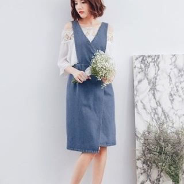 Miyuki Polyvore Denim Dress