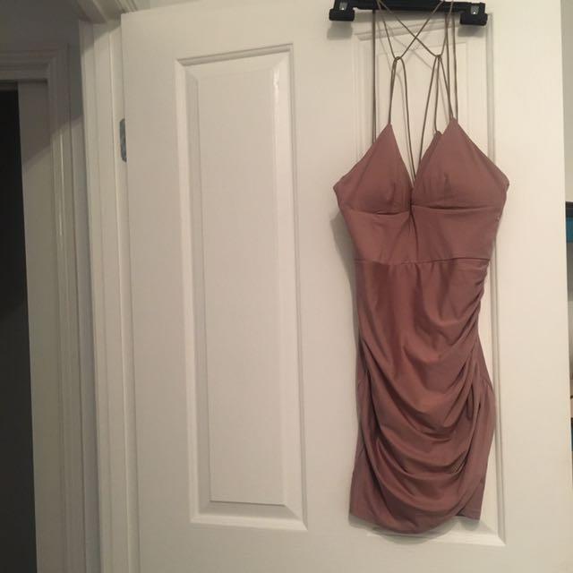 Mocha Short Dress