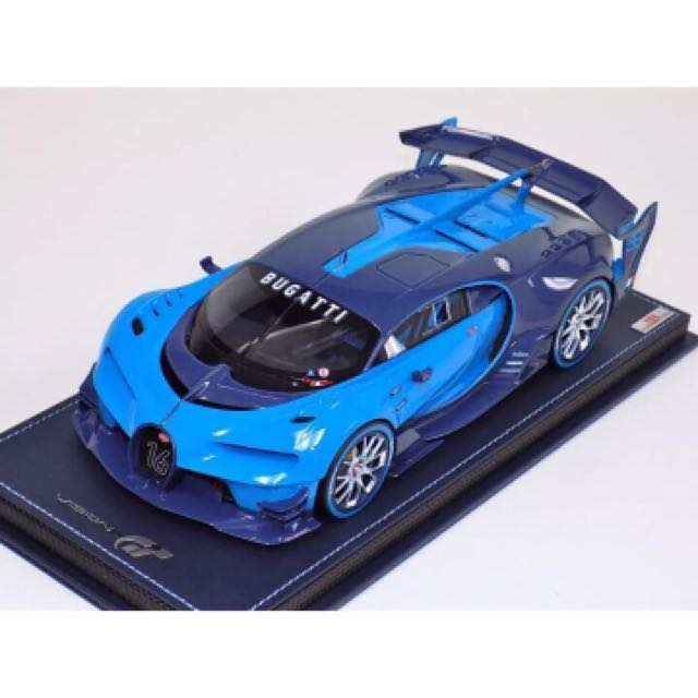 706cbf49a MR Collection 1 18 Bugatti Vision Grand Turismo Carbon Blue On ...
