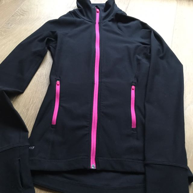 Nike Women's Extra Small Dri Fit Zip Up Jacket