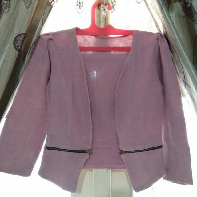 Outer/blazer Pink