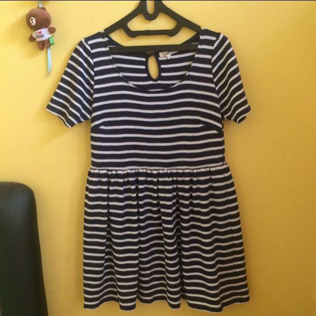 Ozoc Stripe Dress