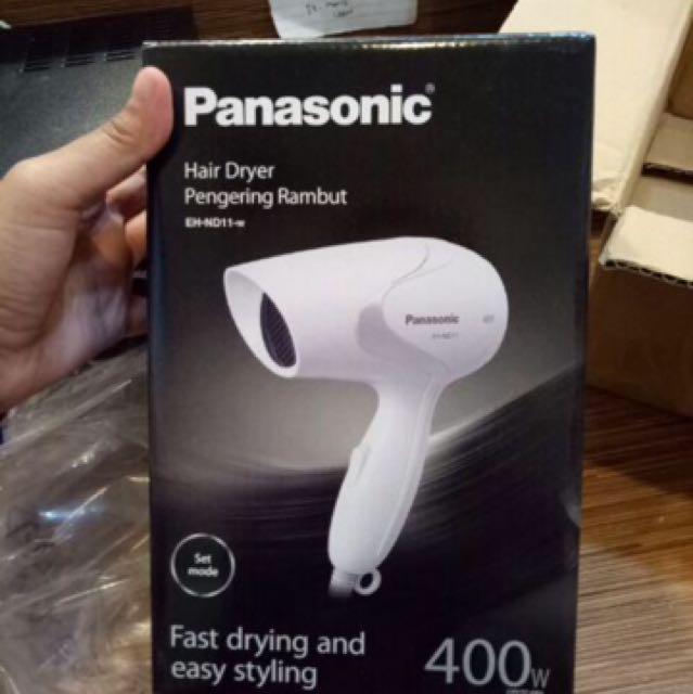 (Inc. Ongkir Jabodetabek) Panasonic Hair Dryer EH ND 11
