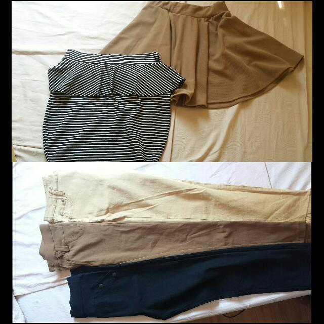 Pants And Skirts 100 Pesos Only.