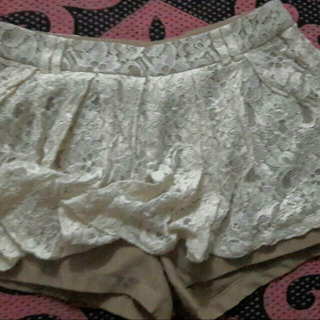 Party: Shorts Lacey Skirt