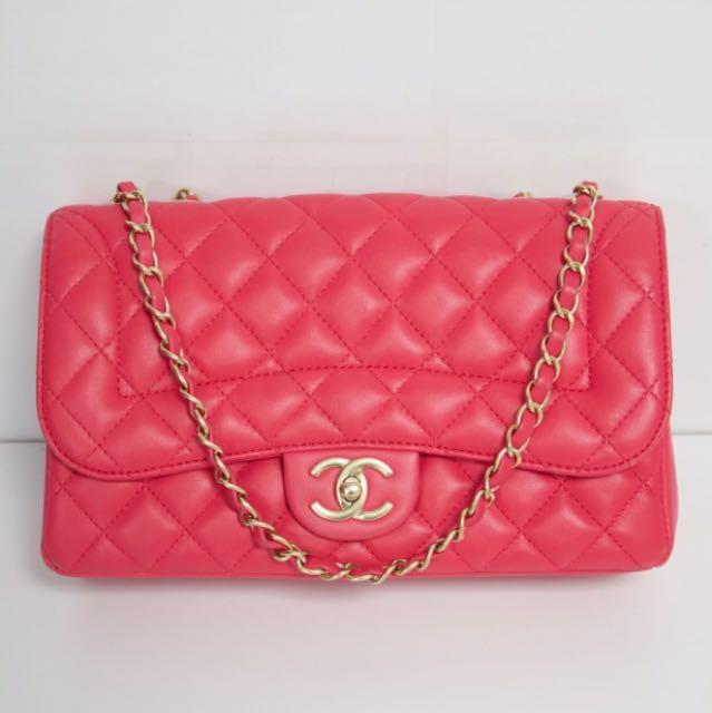 Pink Chanel Medium/Large Flap