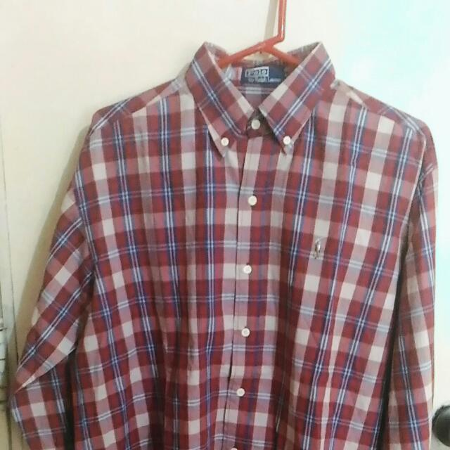 Polo Sport Long Sleeves Button Down Size 20 (Large)