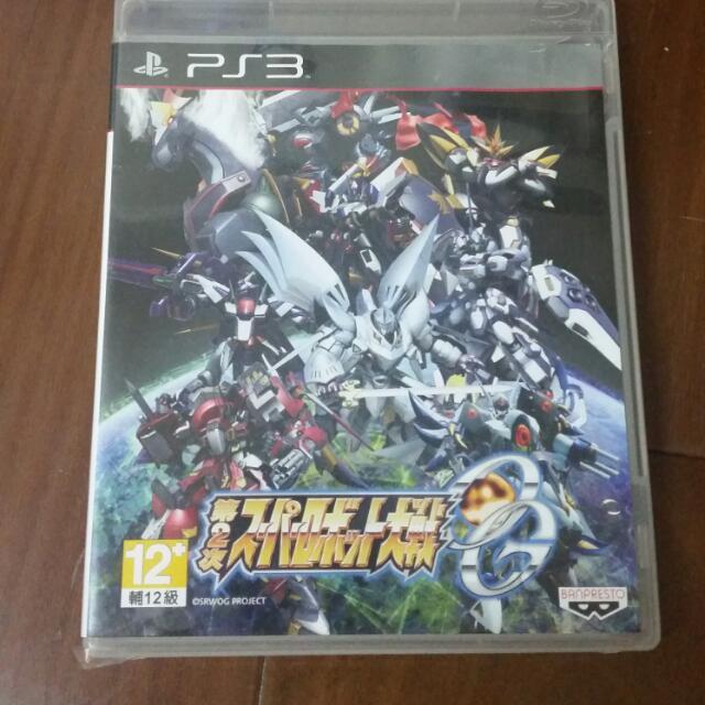 PS3第二次機器人大戰go