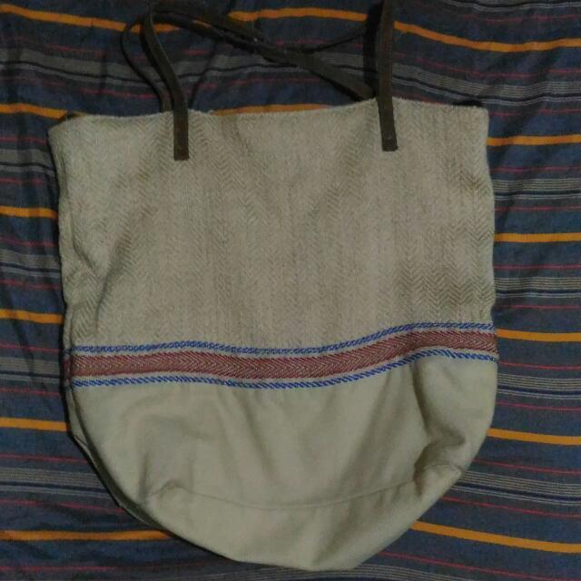 PULL&BEAR Boho Tote Bag