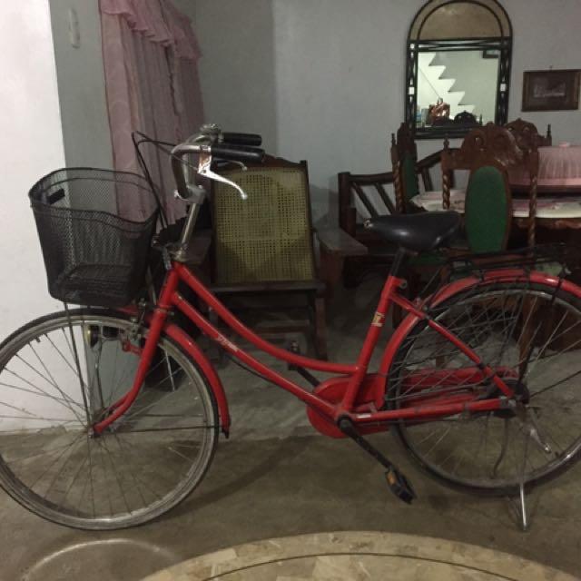 Red Japanese Bike