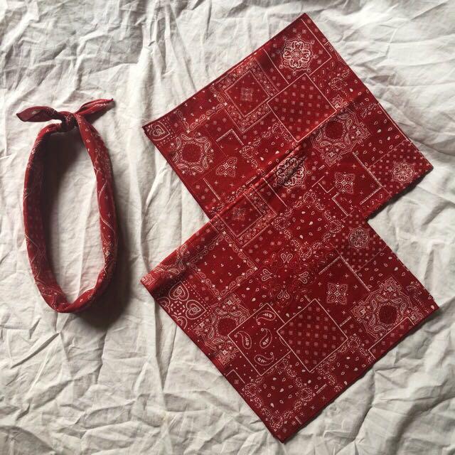 Retro Bandana (Red)