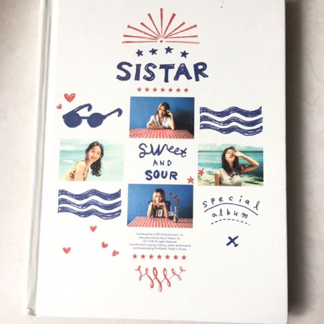 SISTAR SWEET AND SOUR with dasom pc