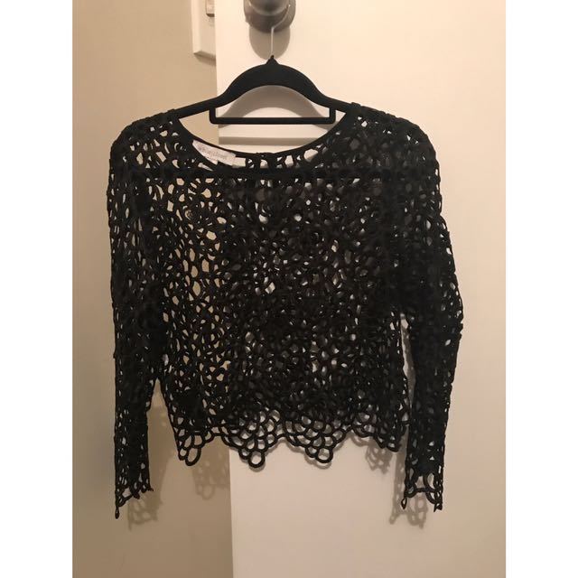 Size 10 - Navy Top