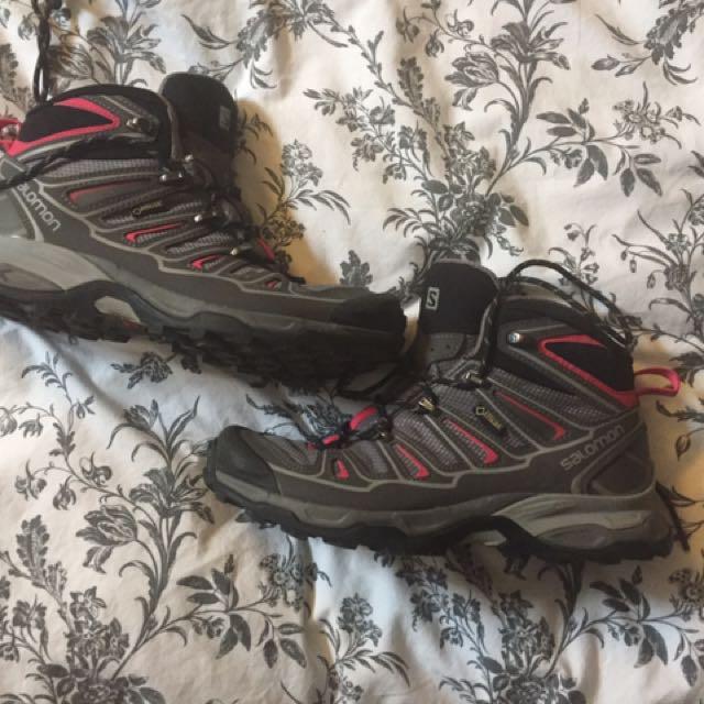 Solomon Hiking Boots