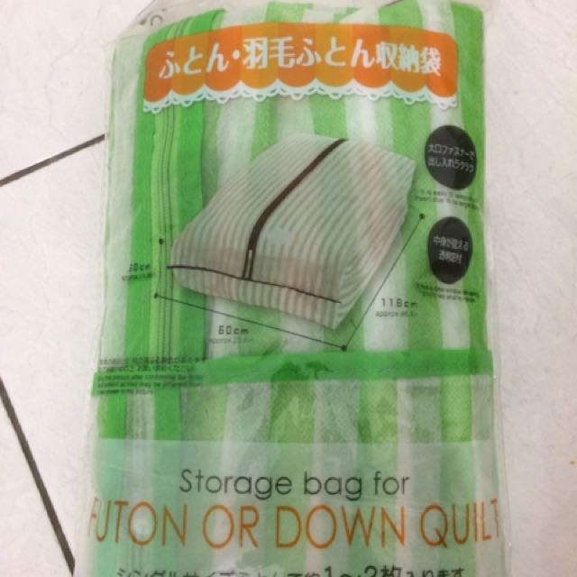 Storage Bag For Futon And Down Quilt