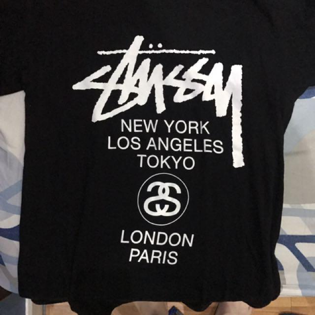 Stussy Tshirt Black