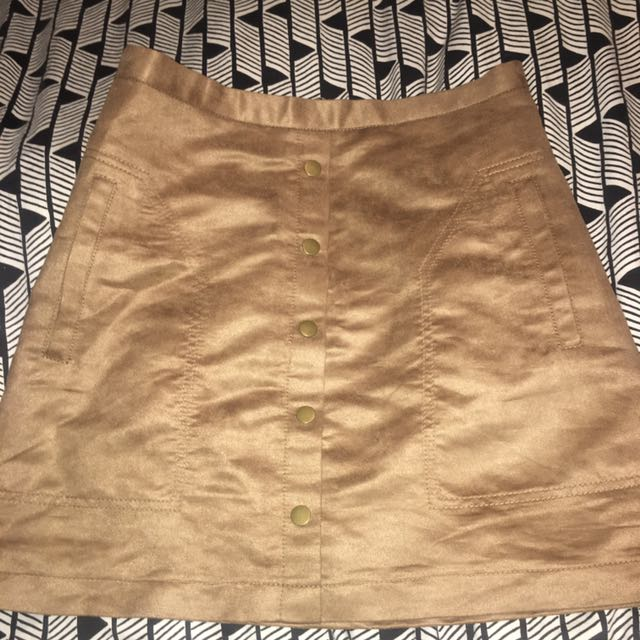 Tan / Camel Skirt