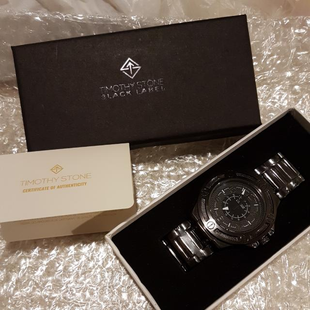 Timothy Stone Black Label Watch