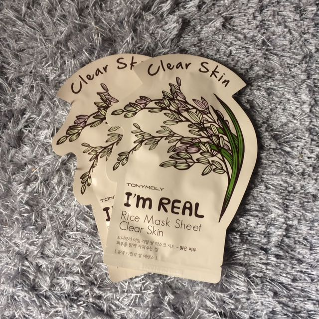[TONYMOLY] It's Real Rice Mask Sheet