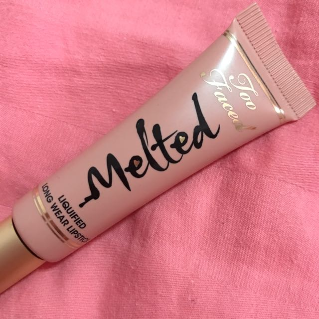 Too Faced Melted Liquified Long Wear Lipstick (Melted Nude)