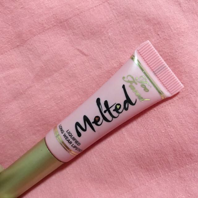 Too Faced Mini Melted Liquified Long Wear Lipstick (Melted Peony)