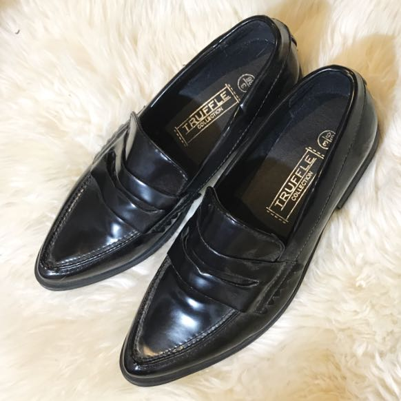 Truffle Patent Loafers