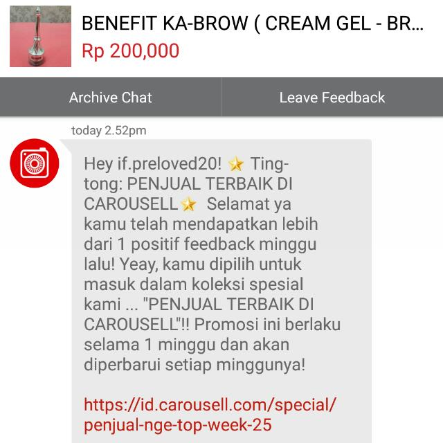 TRUST Again  !! THANKS CAROUSELL