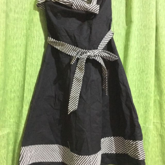 Tube Black Dress