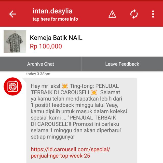 Uhuyy Thanks A lot #carousell and The Ganks