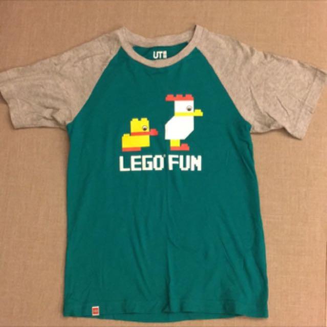 UQ LEGO聯名T恤 xs