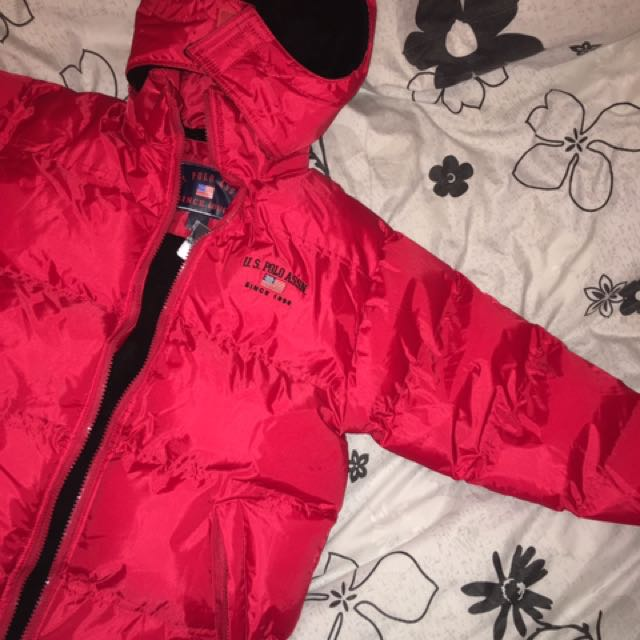 US POLO ASSN RED JACKET