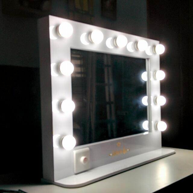 Vanity Mirror With Gold Name