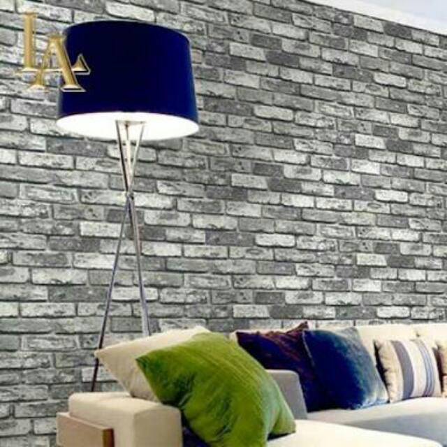 Wallpaper Dinding ( Ada Jasa Pemasangan )