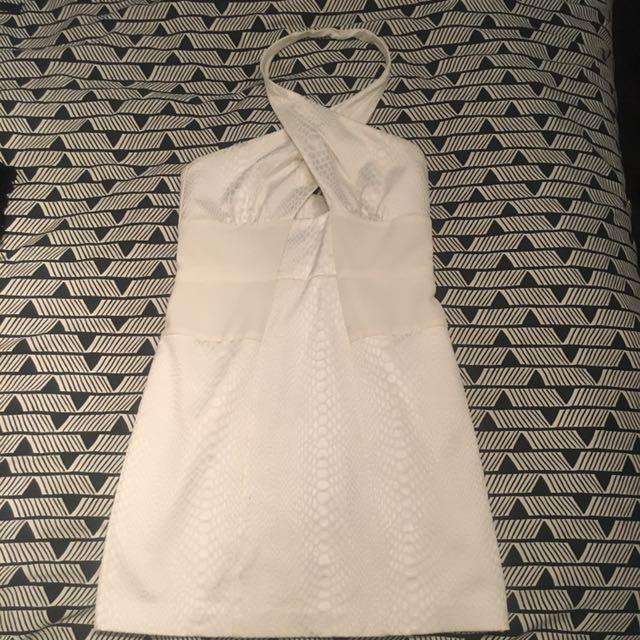 White / Cream Cocktail Dress