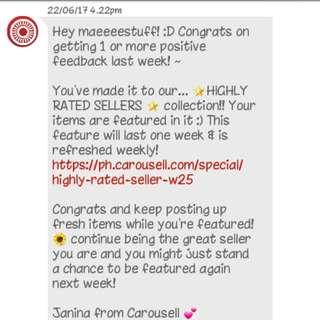 Thankyou Again Carousell