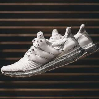 "adidas UltraBOOST 3.0 ""Crystal White"""