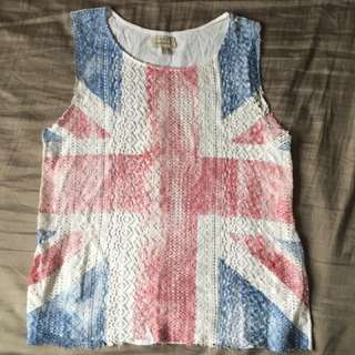Zara UK Lace Top