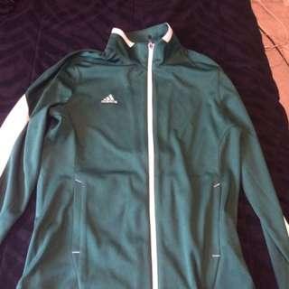 Green Adidas Jacket !
