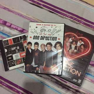 One Direction Bundle CD and DVD