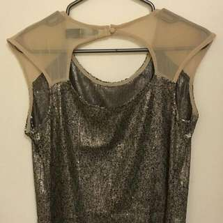 Beautiful Costs Blanca Sequin Blouse