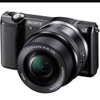Sony Alpha5000 E-mount 20MP Compact System Camera With SELP1650 Lens
