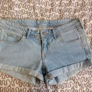 New Short Light Blue Jeans