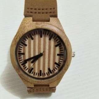 Brand new wooden watch