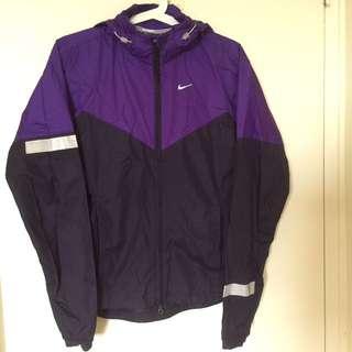 NIKE dark purple/violet Windbreaker
