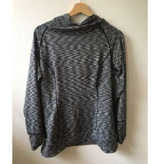 Grey SKINNY DIP pullover