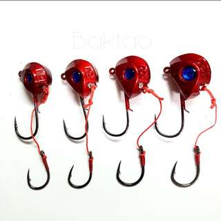 Red Tenya With Blue Eyes For Fishing