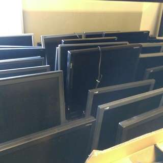Assorted Set Of Monitors