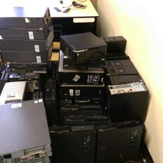 Assorted Set Of Desktop Computers