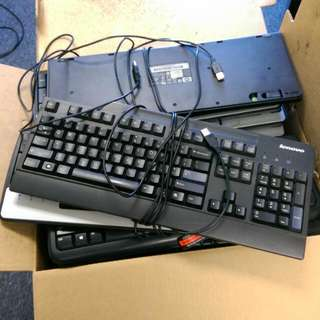 Assorted Set Of Keyboards