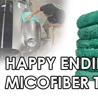Happy Ending Towel Chemical Guys (Edgeless) ☆Stock Clearance☆